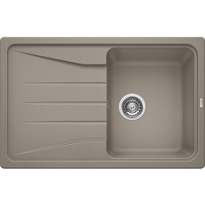 Кухонная мойка Blanco Sona 45 S серый беж (519669) weissgauff fabio granit серый беж