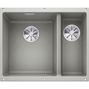 Кухонная мойка Blanco SubLine 340/160-U жемчужный (523551)