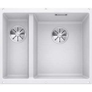 Кухонная мойка Blanco SubLine 340/160-U белый (523562)