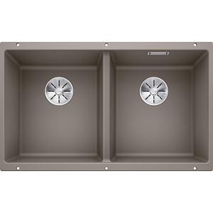 Кухонная мойка Blanco SubLine 350/350-U серый беж (523581)