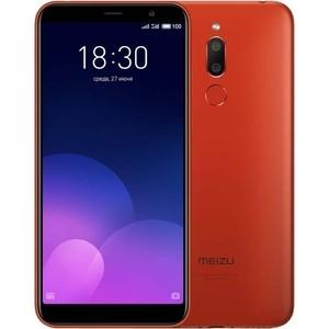 Смартфон Meizu M6T 16GB Red meizu mx5 16gb черно серебристый