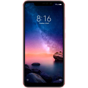 Смартфон Xiaomi Redmi Note 6 Pro 3/32GB Rose Gold смартфон xiaomi redmi 5 3 32gb gold