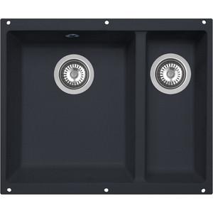 Кухонная мойка Zigmund-Shtain Integra 500.2 черный базальт (4250055632152)