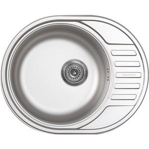 Кухонная мойка Zigmund-Shtain Kreis OV 600.8 linen с сифоном (4250055638031)