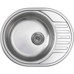 Кухонная мойка Zigmund-Shtain Kreis OV 600.8 polished с сифоном (4250055638024)