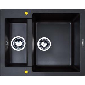Кухонная мойка Zigmund-Shtain Rechteck 600.2 черный базальт (4250055631360)