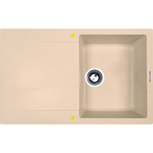 Кухонная мойка Zigmund-Shtain Rechteck 775 топленое молоко (4250055632343)