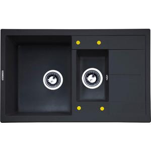 Кухонная мойка Zigmund-Shtain Rechteck 780.2 черный базальт (4250055633050)