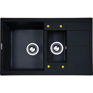 Кухонная мойка Zigmund-Shtain Rechteck 780.2 темная скала (4250055633074)
