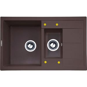 Кухонная мойка Zigmund-Shtain Rechteck 780.2 швейцарский шоколад (4250055633081)