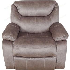 Кресло/реклайнер механическое с качением, вращением, стопором Экодизайн Кливия кармен к 067-4