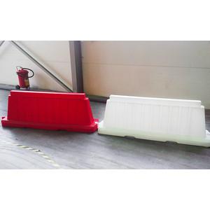 Дорожный блок ЭкоПром 2000 вставной белый (700х 450х 2075)