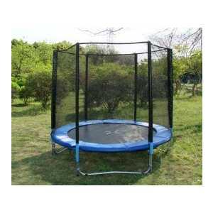 Батут с сеткой DFC Trampoline Fitness 6FT-TR-E батут dfc trampoline fitness 18 футов с сеткой 549 см