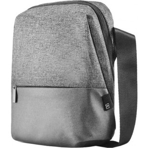 Рюкзак Xiaomi Mi 90 Points Crossbody Bag light grey рюкзак xiaomi mi college casual shoulder bag light grey 74484