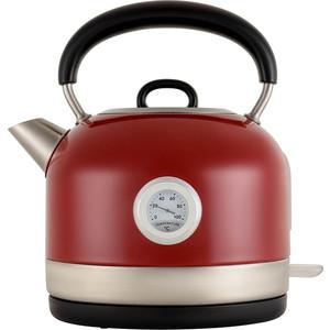Чайник электрический Polaris PWK 1757CA красный фото