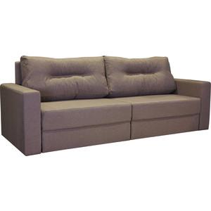 Диван-кровать Шарм-Дизайн Норд серый еврокнижка цены онлайн
