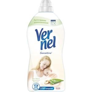 Кондиционер для белья Vernel концентрат сенсетив алоэ вера и миндаль 1,82 л кондиционер для белья vernel концентрат супрем романс 1 2 л
