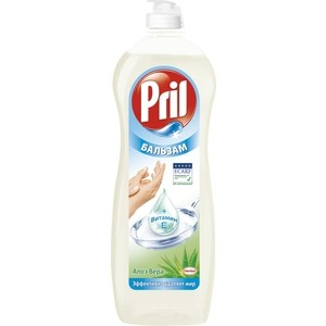 Средство для мытья посуды Pril бальзам алоэ вера 900 мл