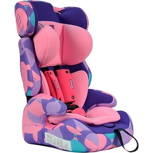 Автокресло Farfello GE-E розовый (pink+colorful)