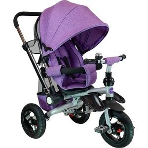 Велосипед трехколёсный Farfello TSTX011 лен фиолетовый