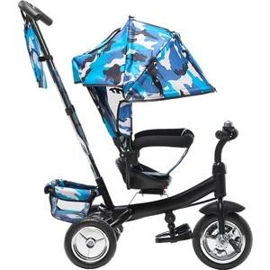 Велосипед трехколёсный Farfello TSTX6588 камуфляж синий