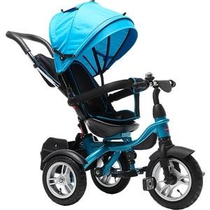цена Велосипед трехколёсный Farfello TSTX6688-4 небесно-голубой онлайн в 2017 году