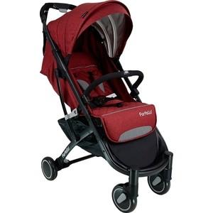 Коляска прогулочная Farfello D100 красный / черная рама цена