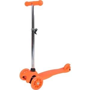 Самокат 3-х колесный Farfello S909G (6) оранжевый viplex viplex самокат 3 х колесный детский оранжевый