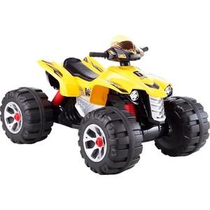 Электромобиль Farfello JS318 (квадроцикл, 12V) желтый квадроцикл jy20a8 синий rivertoys