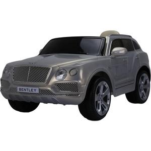 Электромобиль Farfello Bentley Bentayga JJ2158 (лицензия, 12V, EVA) silver metallic (серебристый металлик) / EVA double band metallic mules silver