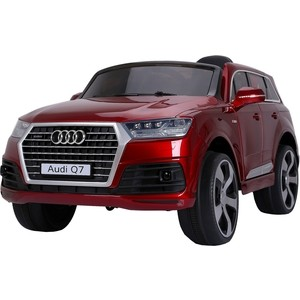 Электромобиль Farfello JJ2188 Audi Licensed Q7 (лицензия, 12V, металлик, EVA, экокожа, Bluetooth) красный