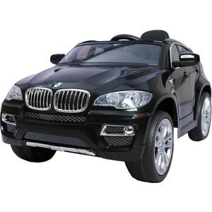 Электромобиль Farfello JJ258 BMW X6 (лицензия, 12V, металлик, EVA, экокожа) черный цена