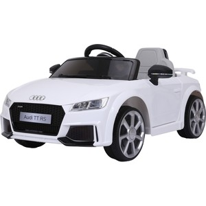 Электромобиль Farfello JE1198 Audi Licensed TT RS (лицензия, 12V) белый цена