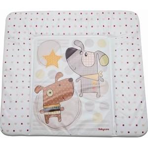 Матрас для пеленания Baby Care 820х730х210 Паппи Дог, коричневый (Puppy Dog, brown) BC01