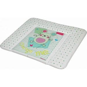 Матрас для пеленания Baby Care 820х730х210 Слиппи Мауз, зеленый BC01