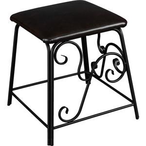 Банкетка Мебелик Сартон 31 черный/эко-кожа коричневый стоимость