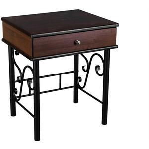 Тумба Мебелик Сартон 11 черный/средне-коричневый стоимость