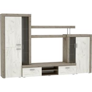 Гостиная Vivat - мебель Модерн дуб серый/дуб белый