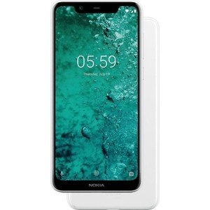 Смартфон Nokia 5.1 Plus White смартфон
