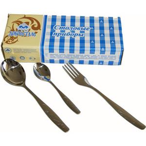 Набор столовых приборов из 18 предметов Нытва Лира (3213) нытва картофелемялка нытва силуэт 3042 qoidpak
