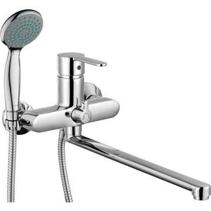 Смеситель для ванны GROSS AQUA Moderna с длинным изливом 350 мм (7213278С - 35L(F))
