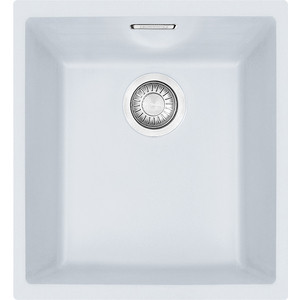 Кухонная мойка Franke Sirius SID 110-34 Tectonite белый (125.0443.349) цена в Москве и Питере