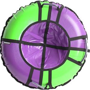 Тюбинг Hubster Sport Pro фиолетовый-зеленый 105 см