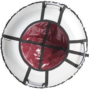 Тюбинг Hubster Ринг Pro серый-бордовый 105 см цена
