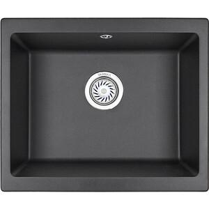 купить Кухонная мойка Granula GR-5551 черный по цене 8260 рублей
