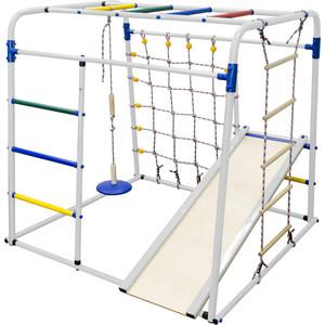 Детский спортивный комплекс Формула здоровья Start baby 1 Плюс белый-радуга детский спортивный комплекс формула здоровья уралец 1а плюс универсальный синий радуга