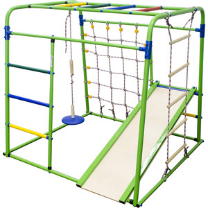 Детский спортивный комплекс Формула здоровья Start baby 1 Плюс салатовый-радуга детский спортивный комплекс формула здоровья атлант 1с плюс салатовый радуга