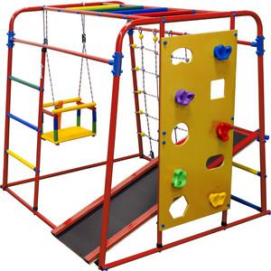 Детский спортивный комплекс Формула здоровья Start baby 2 Плюс красный-радуга