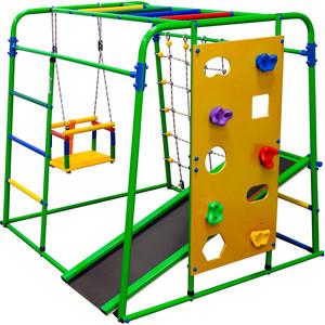 Детский спортивный комплекс Формула здоровья Start baby 2 Плюс салатовый-радуга