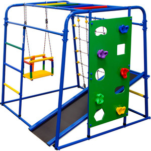 Детский спортивный комплекс Формула здоровья Start baby 2 Плюс синий-радуга цена